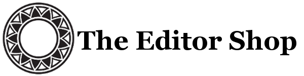 The Editor Shop Logo